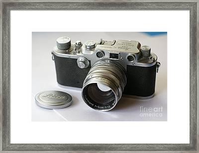Leica IIic J010 Framed Print by Larry Matthews