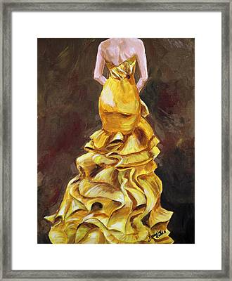 Lemon Twist Framed Print