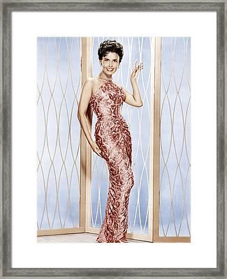 Lena Horne, Ca. 1950s Framed Print by Everett