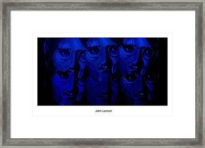 Lennon's World Framed Print by Mark Moore