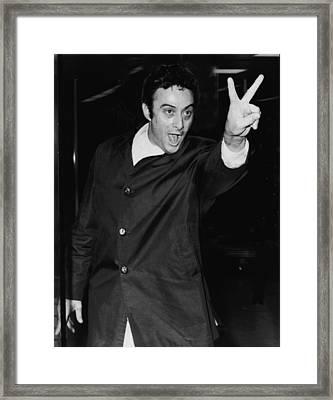 Lenny Bruce 1925-1966 Social Critic Framed Print by Everett