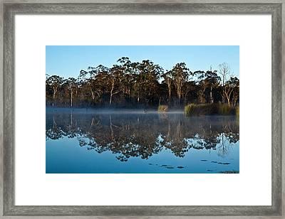 Lenthall Dam 05 Framed Print by David Barringhaus