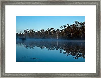 Lenthalls Dam 04 Framed Print by David Barringhaus