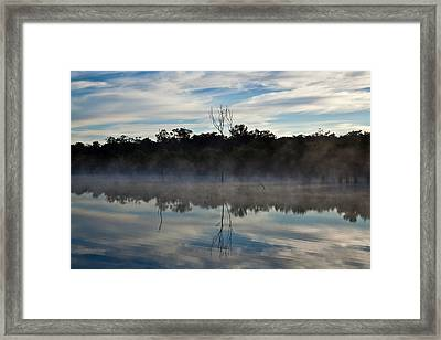 Lenthalls Dam 10 Framed Print by David Barringhaus