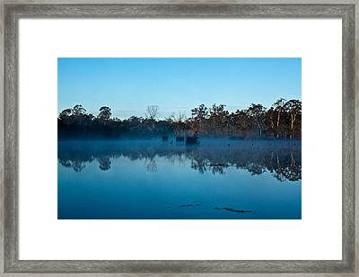 Lenthalls Dam 11 Framed Print by David Barringhaus