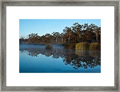Lenthalls Dam 14 Framed Print by David Barringhaus