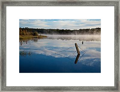 Lenthalls Dam 17 Framed Print by David Barringhaus