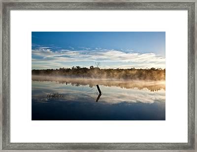 Lenthals Dam 01 Framed Print by David Barringhaus