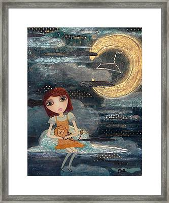 Leo Framed Print by Laura Bell