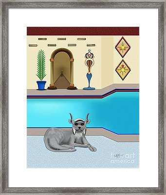 Leo Framed Print by Linda Seacord