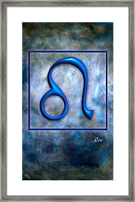 Leo  Framed Print by Mauro Celotti
