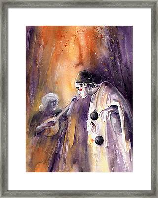 Leo Sayer In The Show Must Go On Framed Print by Miki De Goodaboom