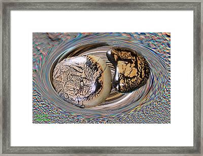 Leo Stars Framed Print by Augusta Stylianou