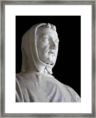 Leonardo Fibonacci, Italian Mathematician Framed Print