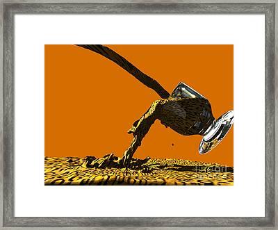 Leopard Juice Framed Print