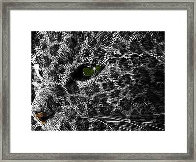 Leopard Within Framed Print