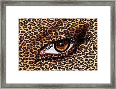 Leopard Framed Print by Yosi Cupano