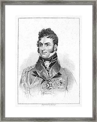 Leopold I (1790-1865) Framed Print by Granger