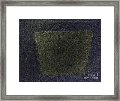 Les Deux Noms Framed Print by Contemporary Luxury Fine Art