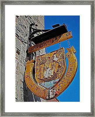 Les Filles Du Roy ... Framed Print