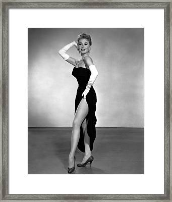 Les Girls, Mitzi Gaynor, 1957 Framed Print