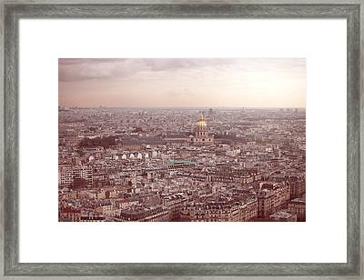 Les Invalides Framed Print by Nico De Pasquale Photography