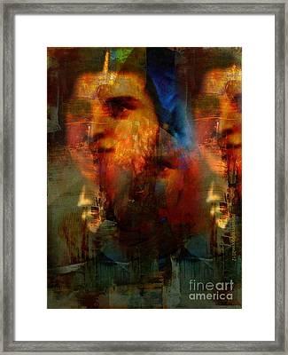Les Missionaires Framed Print