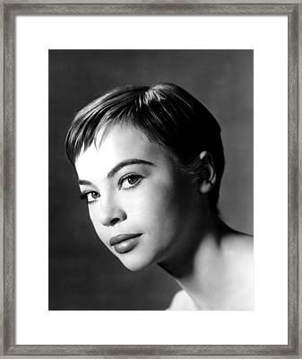 Leslie Caron, Ca. 1955 Framed Print