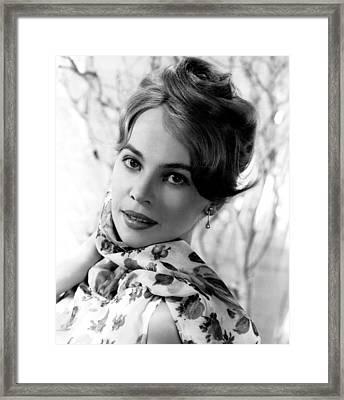 Leslie Caron, Circa 1960 Framed Print