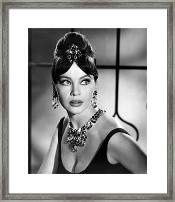 Leslie Caron, Late 1950s Framed Print by Everett