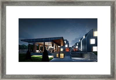 Less Is More Framed Print by White Mammoth