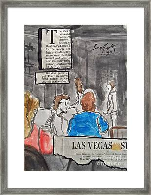 Less Than 50 Framed Print by Wade Hampton