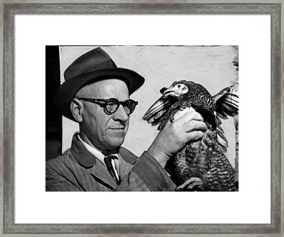 Lester P. W. Wehle, A Live-poultry Framed Print by Everett