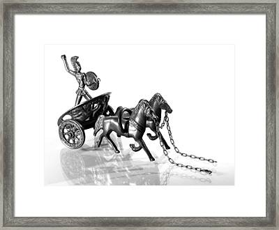 Let Go Framed Print by Andy Mulle