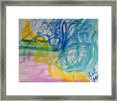 Let Go In The Spirit Framed Print by Bethany Stanko