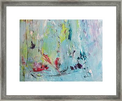 Let It Be No 1 Framed Print