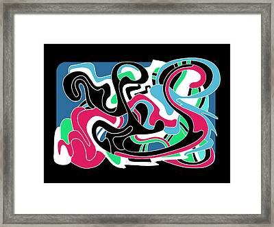 Let It Flow Framed Print by Noah Hornberger