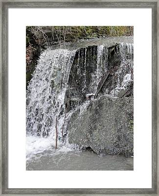 Framed Print featuring the photograph Let It Flow by Tiffany Erdman