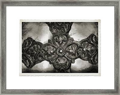Let Mercy Reign 4 Framed Print