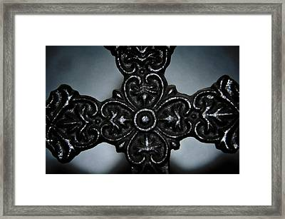 Let Mercy Reign Framed Print by Angelina Vick