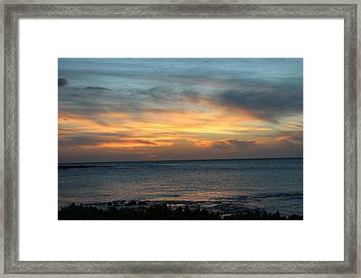 Let The Light  Framed Print by Raquel Amaral