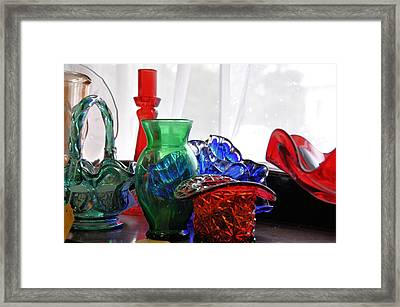 Let The Light Shine In Framed Print by Jan Amiss Photography