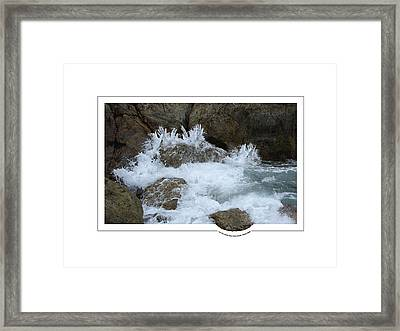 Let The Rivers Clap Their Hands Framed Print