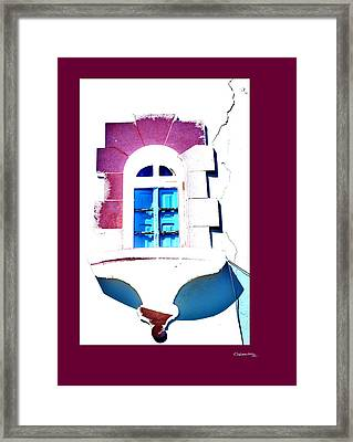 Let The Sunshine In 3 Framed Print by Xoanxo Cespon