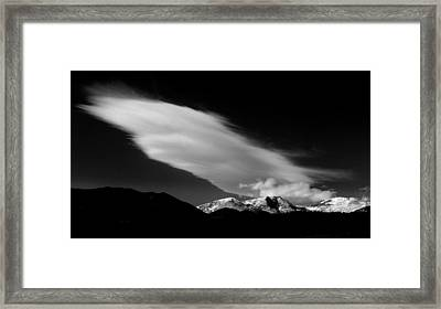 Let There Be Light.. Framed Print