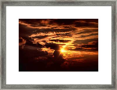 Let There Be Light Framed Print by Joetta West