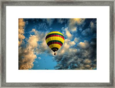 Let Us Take A Ride Framed Print by Gary Smith