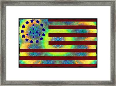 Let Your Freak Flag Fly Framed Print by Bill Cannon