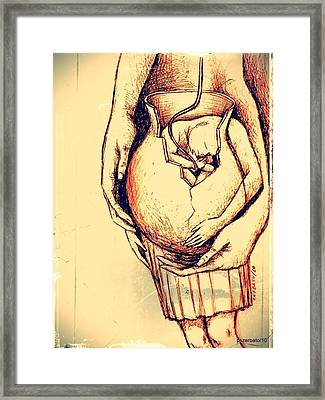 Lets Break Up And Be Reborn Framed Print by Paulo Zerbato