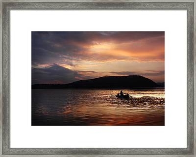 Let's Call It A Day Framed Print by Lori Deiter